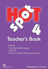Hot Spot 4 Teacher's Book + Test D