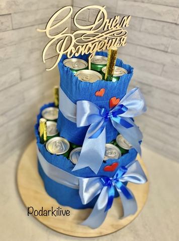 Торт из напитков 21-01-2