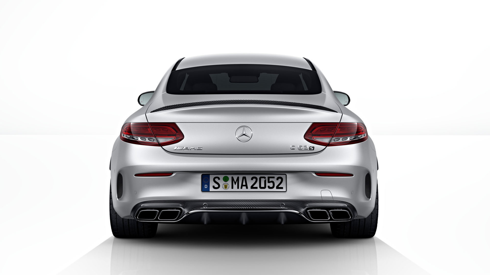 Карбоновый багажник 63 AMG Style для Mercedes С-class сoupe С205