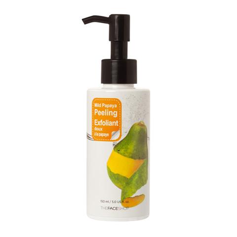 The Face Shop Smart Peeling Mild Papaya Peeling пилинг-скатка с экстрактом папайи