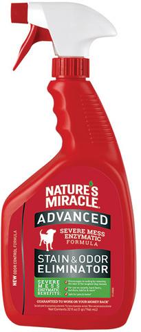 8in1 уничтожитель пятен и запахов от собак NM Advanced с усиленной формулой, спрей 945 мл