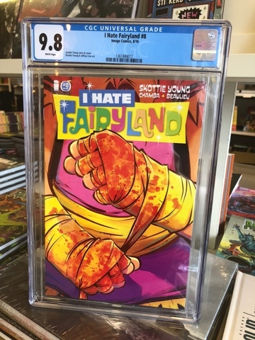 I Hate Fairyland #8 CGC 9.8