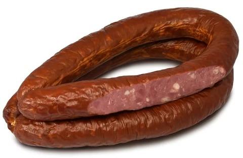 Белорусская колбаса полукопченая