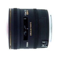Объектив Sigma AF 4.5mm f/2.8 EX DC Circular Fisheye HSM Black для Canon