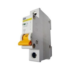 Автоматический выключатель 1/6А IEK(ИЭК) MVA20-1-006-C