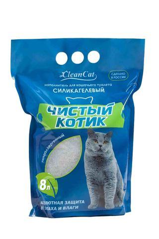 Чистый котик - Силикагелевый наполнитель