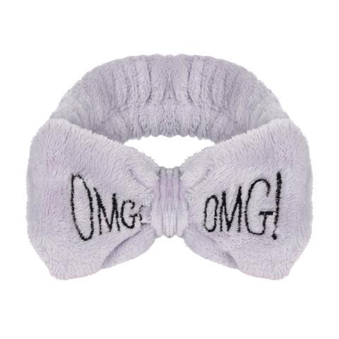 Косметическая повязка OMG!, серая
