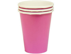 Стакан Темно-розовый (Фуксия) / Bright Pink / 266мл, 8 шт.