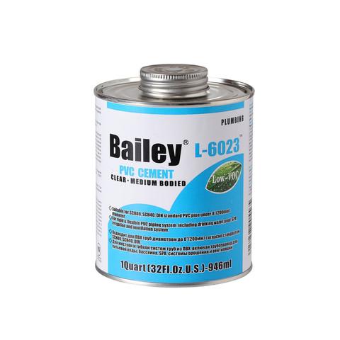 Клей для труб ПВХ Bailey L-6023 4000 мл / 20993