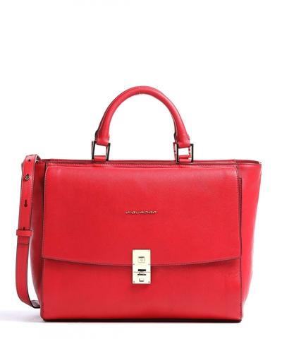 Сумка Piquadro Dafne Business, красный, 41х26,5х16 см