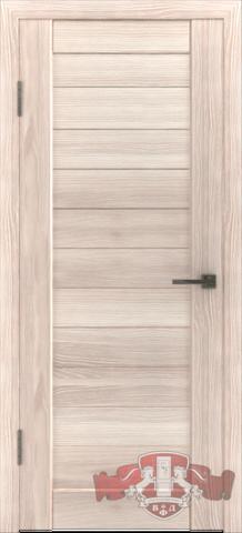 Дверь Л6ПГ1 (капучино, глухая экошпон), фабрика Владимирская фабрика дверей