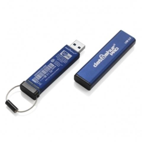 Защищенный флеш накопитель «Flash Drive DatAshur Pro» 16Gb