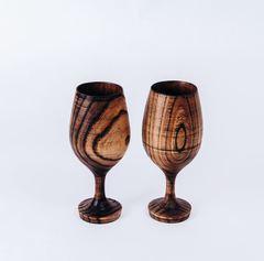 Набор бокалов для вина из дерева «Сибирский вяз», фото 3