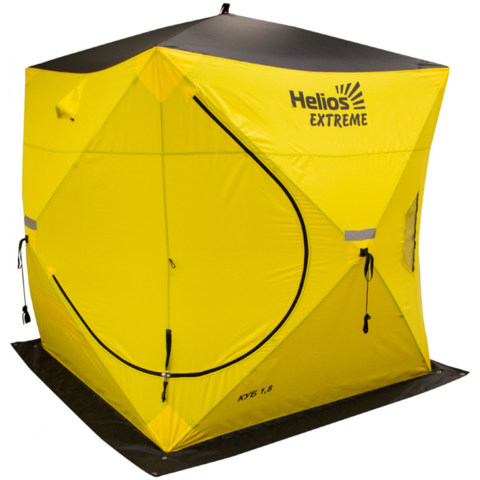 Палатка-куб зимняя Helios EXTREME V2.0 (1,8х1,8)