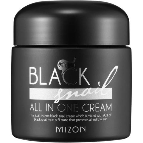 Крем с экстрактом  слизи черной улитки Mizon Black Snail All In One Cream