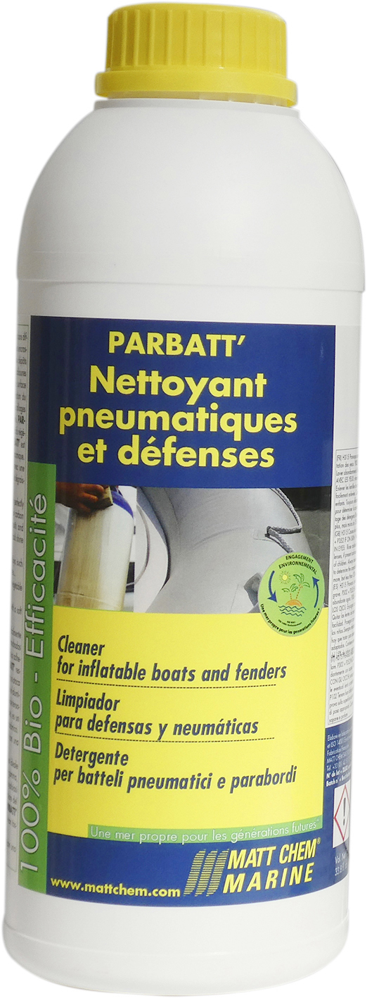 Inflatable boats and fenders cleaner Parbatt'