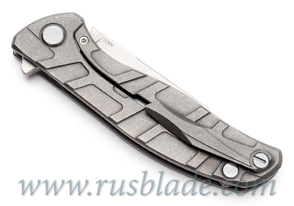 CUSTOM Shirogorov F95 ONE-OFF PROTOTYPE S30V T-mode - фотография