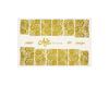 Фольга для дизайна ногтей цвет золото 46 купить за 120руб