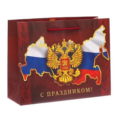 Пакет подарочный 23 февраля - Магазин тельняшек.руПакет «Во славу Отечества!», 26309 см в Магазине тельняшек