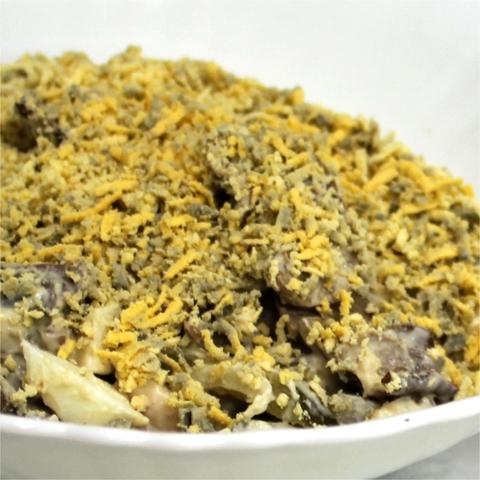 Салат с грибами и печенью 1 кг