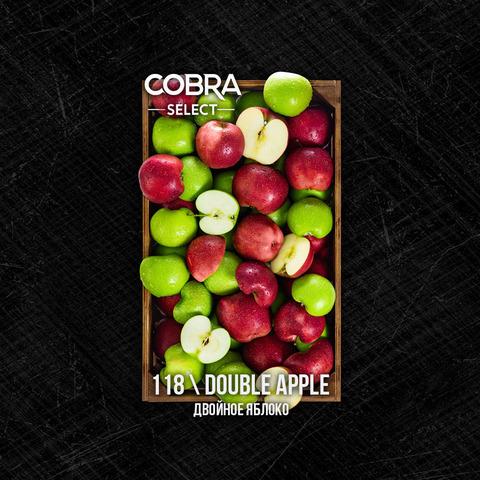 Табак Cobra SELECT Двойное Яблоко (Double Apple) 40 г