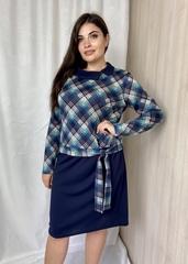 Тала. Повсякденна комфортна жіноча сукня. Синій