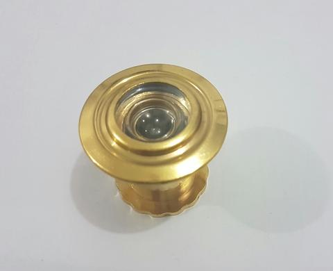 Глазок широкий золото, хром 35-50 мм /КНР/
