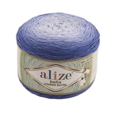 Пряжа Alize Bella Ombre Batik цвет 7407