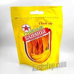 Сушеные бананы Вьетконг, упаковка 100 г