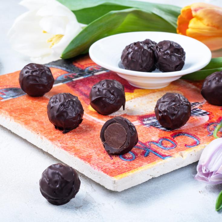 Трюфель Вилена с трюфельной начинкой в темном шоколаде, ФРЕНЧКИСС, 100г