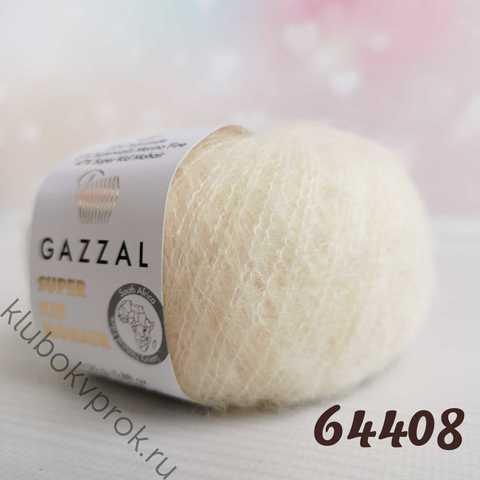 GAZZAL SUPER KID MOHAIR 64408, Слоновая кость