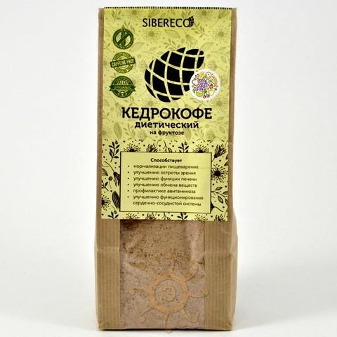 Кедрокофе Диетический на фруктозе Sibereco, 250г
