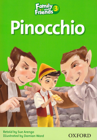 Family and Friends 3: Readers: Pinocchio