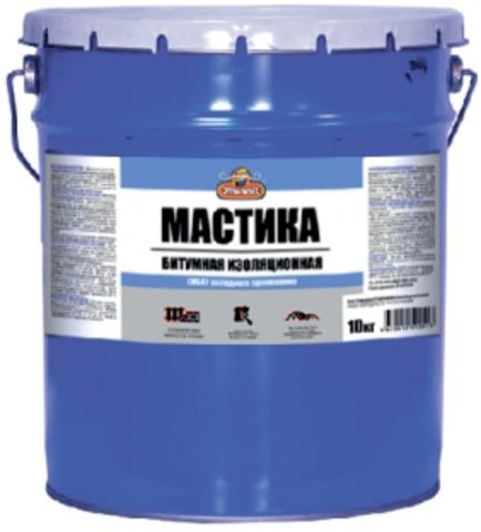 Мастика битумно-резиновая МРБ Оптилюкс (5кг) ведро