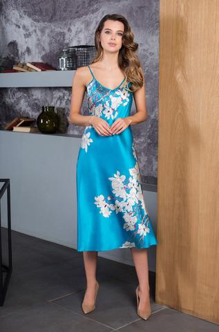Сорочка шелковая женская Mia-Mia 45504