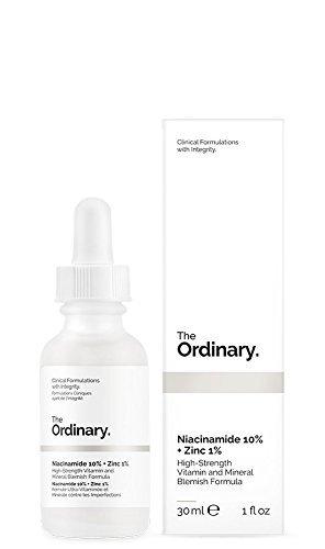 The Ordinary Niacinamide 10% + Zinc 1%  cыворотка для лица 30мл
