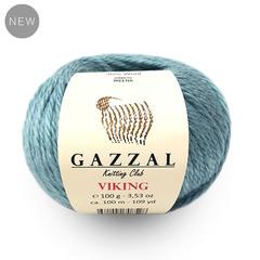 GAZZAL Viking (30% шерсть, 70% акрил, 100гр/100м)