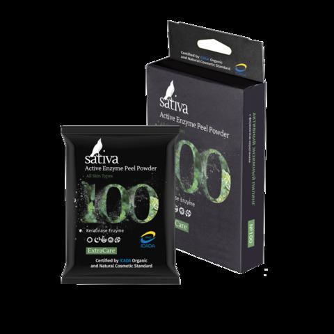 Пилинг активный энзимный №100 | 5 гр | Sativa