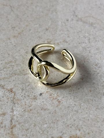 Кольцо Твидли, позолота
