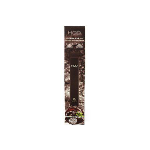 Одноразовая электронная сигарета HQD Ultra Black Ice (Черная Смородина)