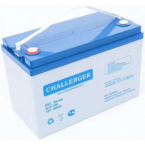 Аккумулятор CHALLENGER GEL G12-100