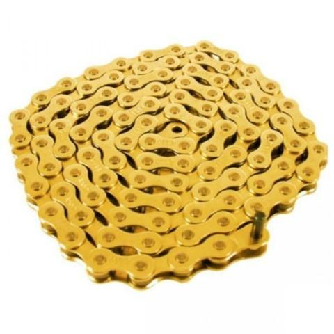 BMX Цепь Cult 410 Золотая