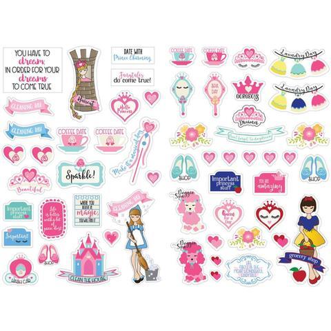 Набор стикеров Julie Nutting Planner Stickers - Fairytales- 56шт