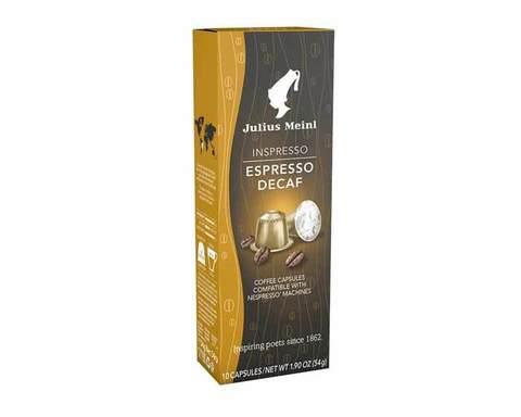 Капсулы для кофемашин Julius Meinl Espresso Decaf