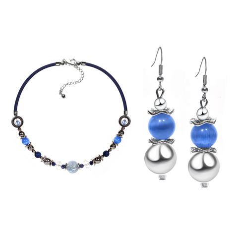 Комплект ожерелье и серьги Eleganza цвет 056A