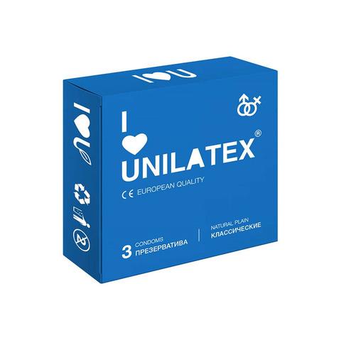 Презервативы Unilatex Natural Plain 3 шт