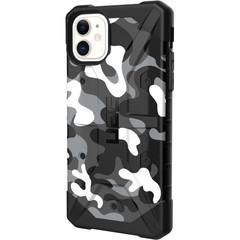 Чехол Uag Pathfinder SE Camo для iPhone 11 белый камуфляж (Arctic Camo)