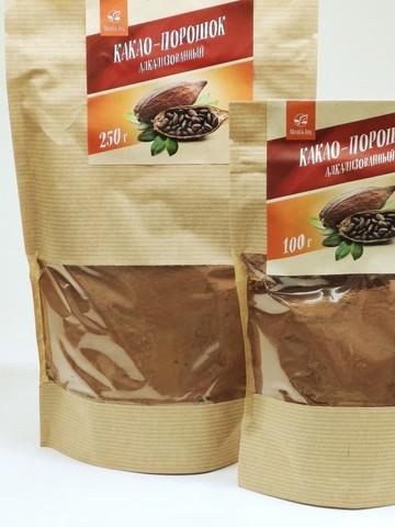 Какао-порошок (алкализованный), 100 г