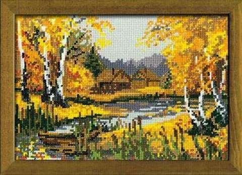 Набор для вышивания крестом «Осеннее очарование» (920)