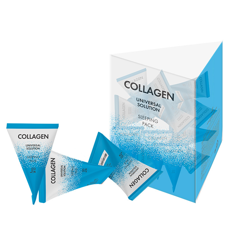 Ночные маски Маска для лица КОЛЛАГЕН НАБОР J:ON Collagen Universal Solution Sleeping Pack 20 шт * 5гр a8565045b6b13db9bb5540e7de0e13c5.jpg
